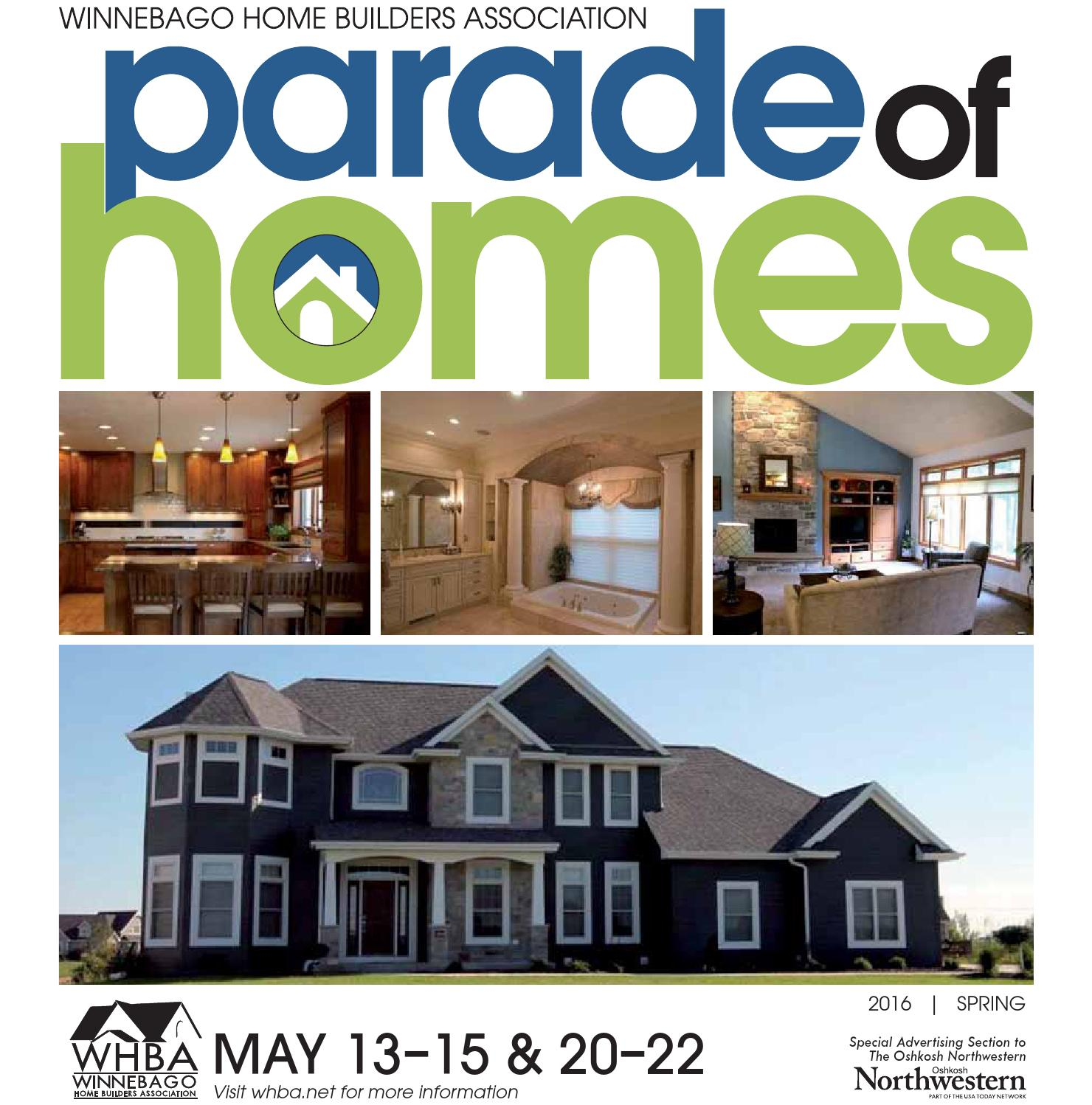 Amazing home builders in appleton wi 10 oshkosh parade for Home builders appleton wi