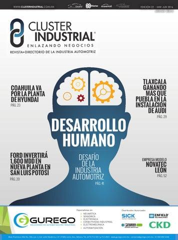 Edición 22  Desarrollo Humano  Desafío de la Industria Automotriz by ... 55d748e1e0b72