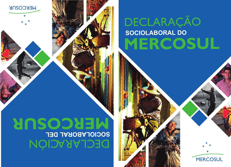 Resultado de imagen para Declaración Sociolaboral del MERCOSUR.