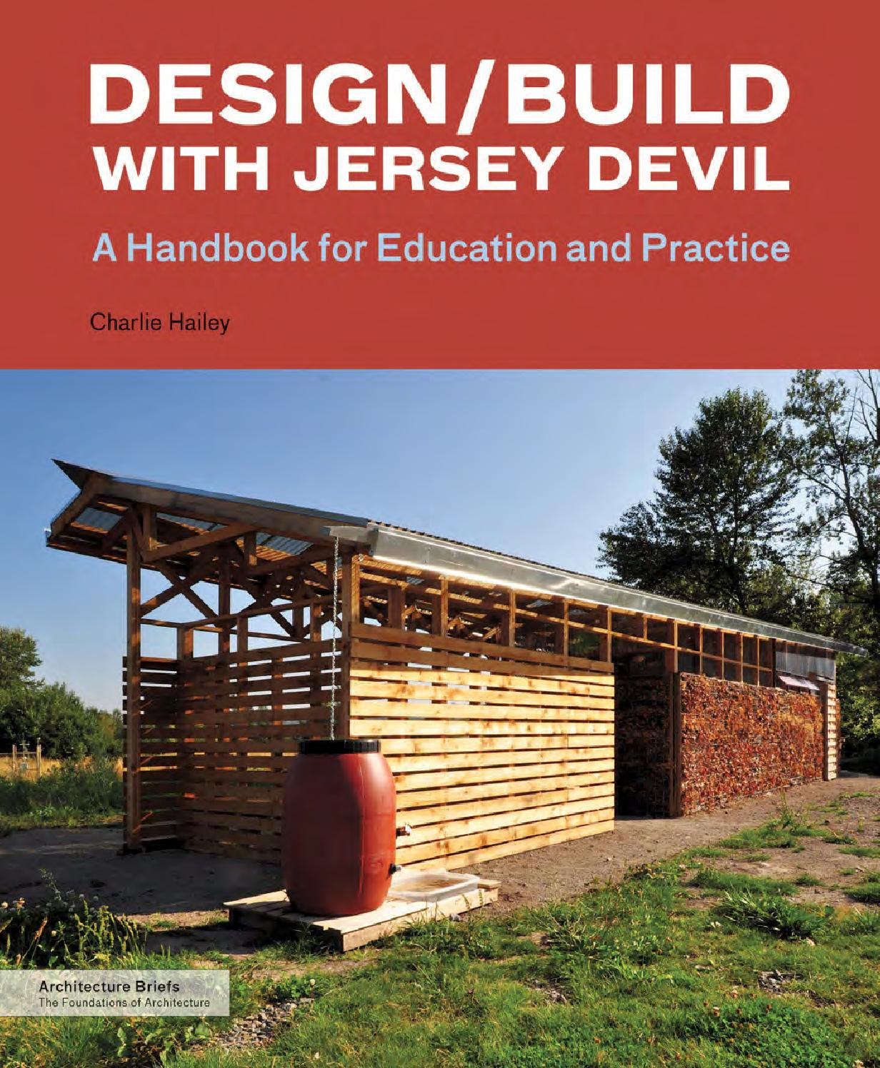 Design/Build With Jersey Devil By Princeton Architectural