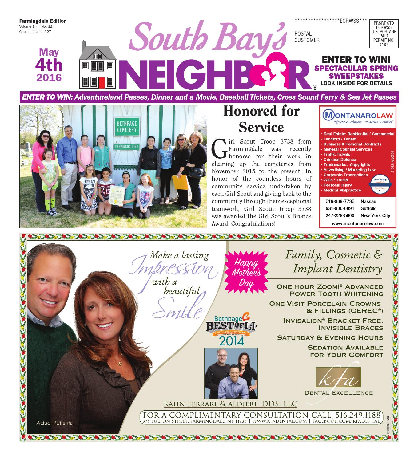 may 4 2016 farmingdale by south bay s neighbor newspapers issuu