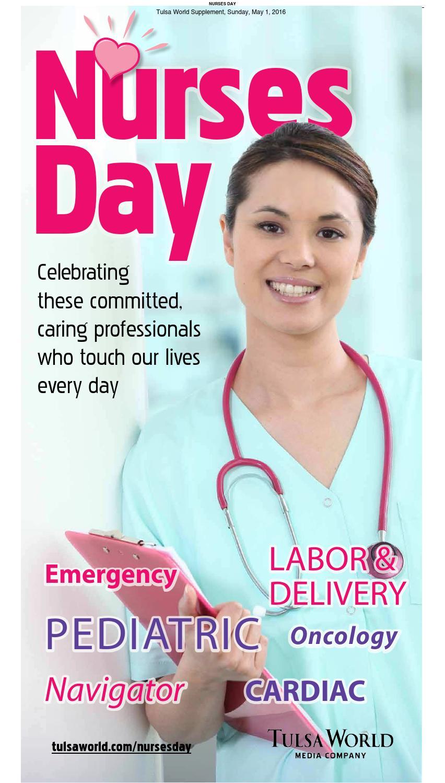 Nurses Day Thought In Hindi: Nurses Day 2016 By Tulsa World