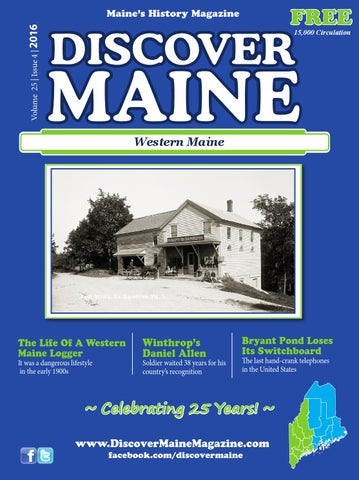 Western Maine 2016 By Discover Maine Magazine Issuu
