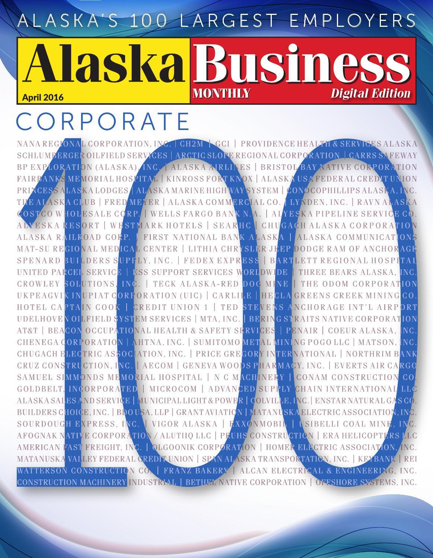 alaska business monthly april 2016 by alaska business - issuu