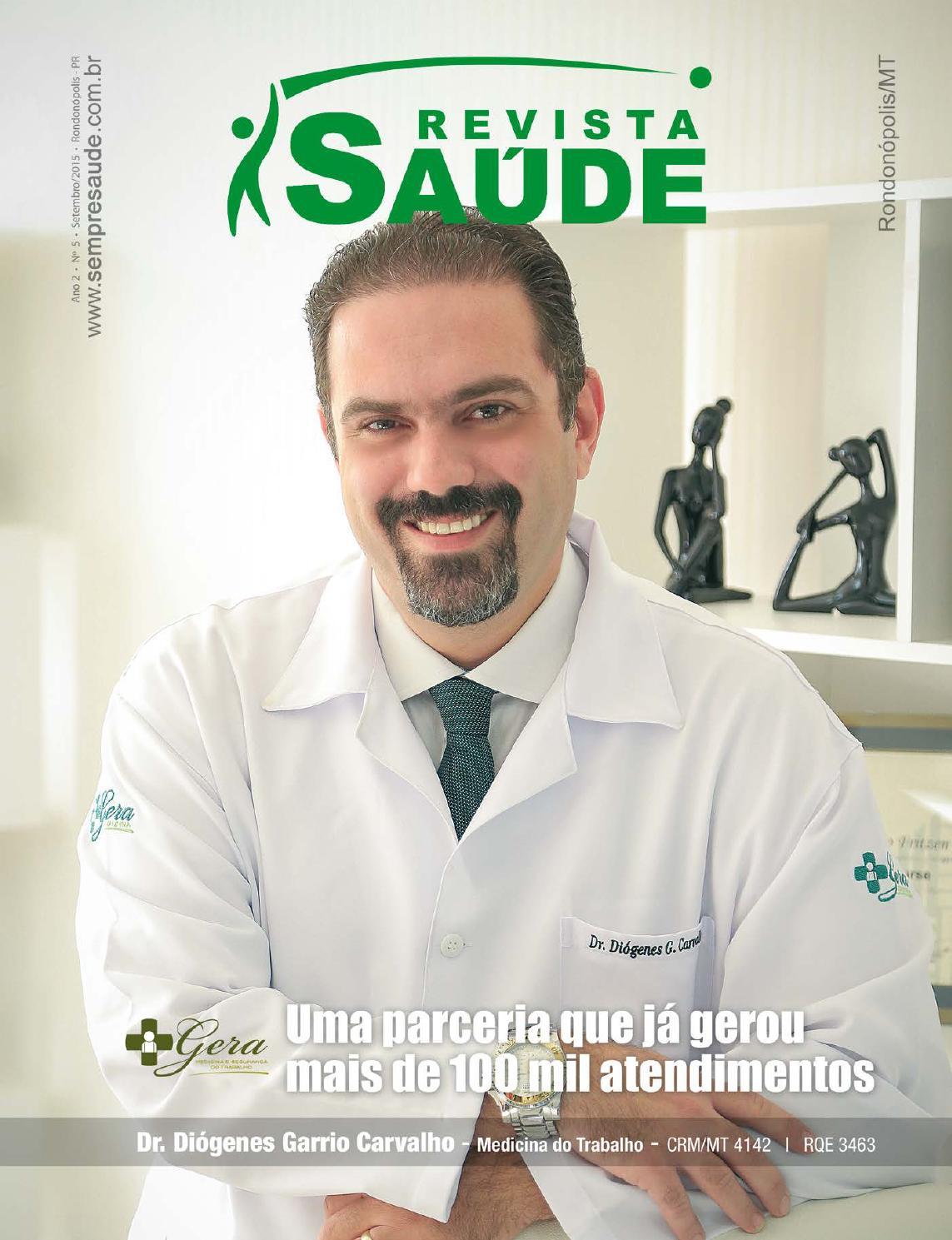 d5afba99da4 Revista Saúde Rondonópolis MG - Edição 5 - 09 2015 by Revista Saúde - issuu