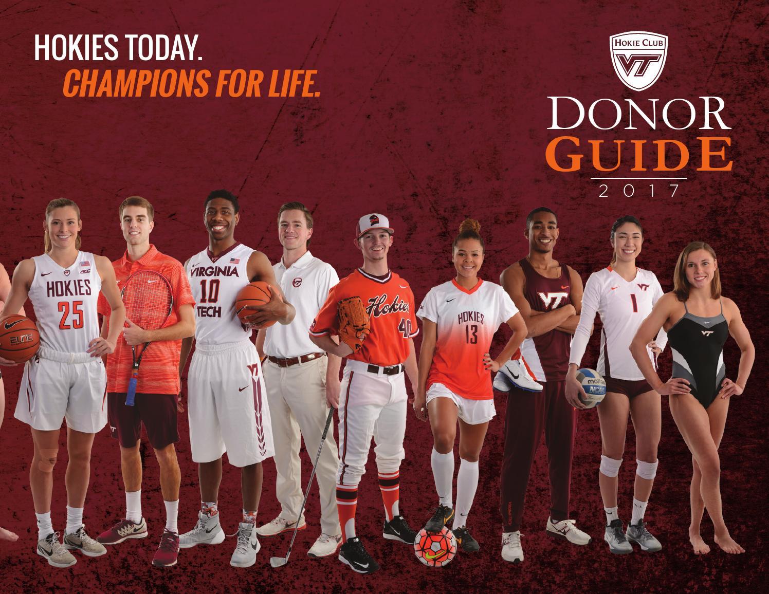 Hokie Club Donor Guide Book By Virginia Tech Athletics Issuu