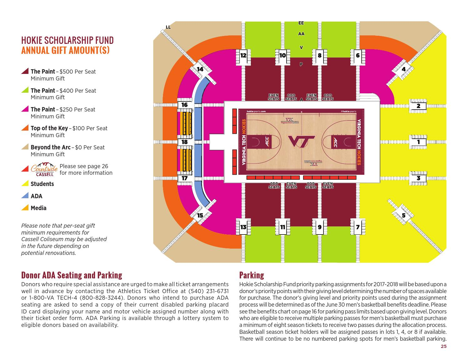 Hokie Club Donor Guide Book By Virginia Tech Athletics Issuu