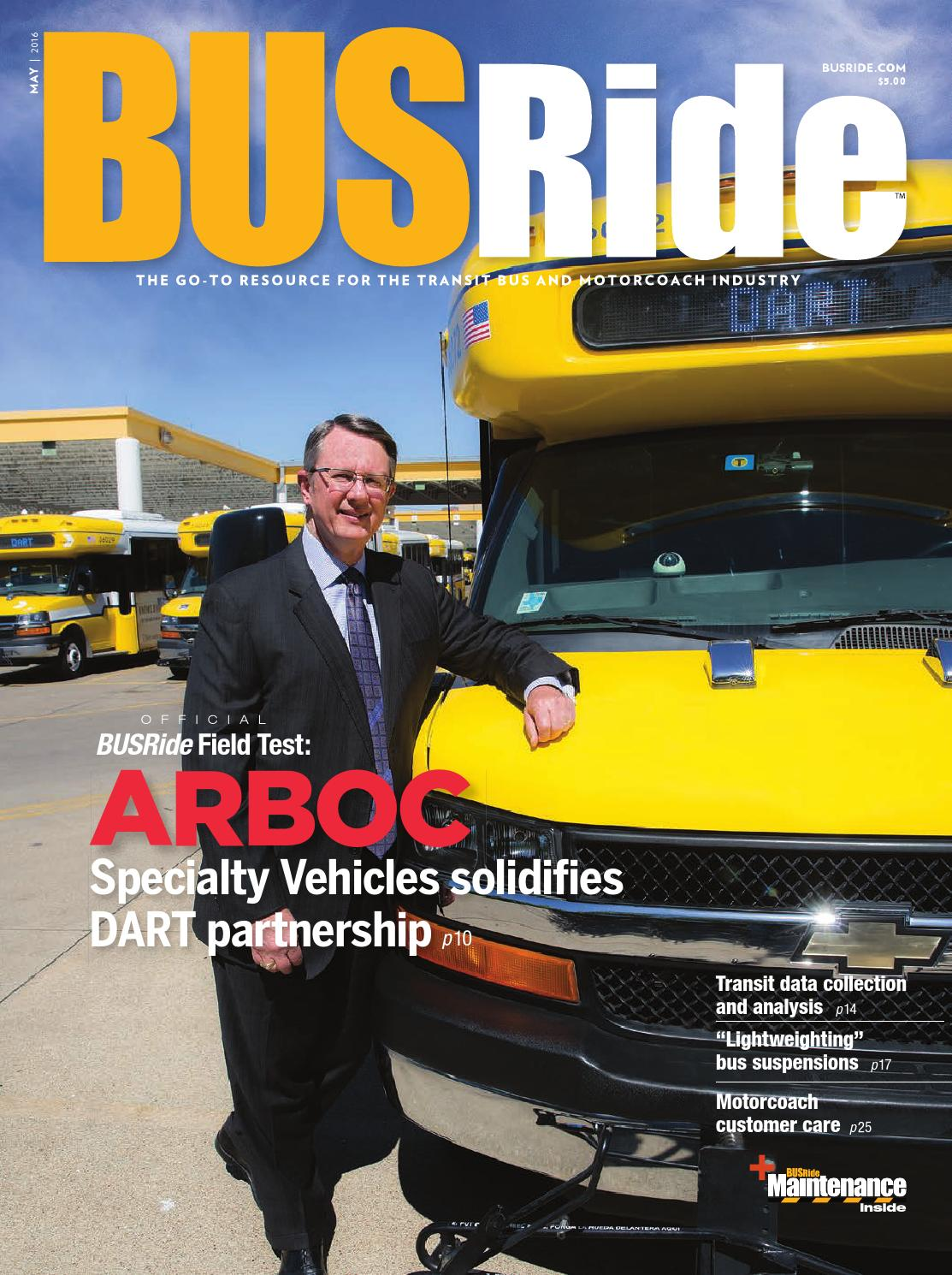 Busride Magazine May 2016 By Power Trade Media Issuu