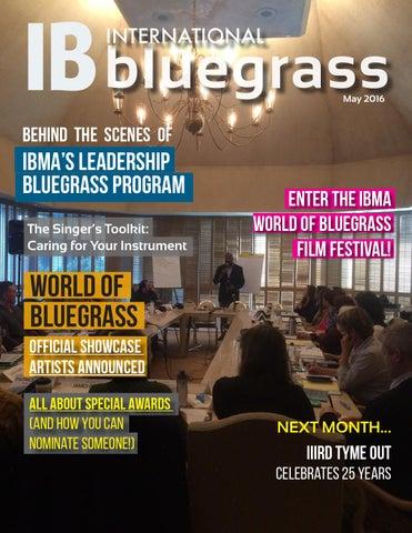 IB: International Bluegrass May 2016 by International Bluegrass ...
