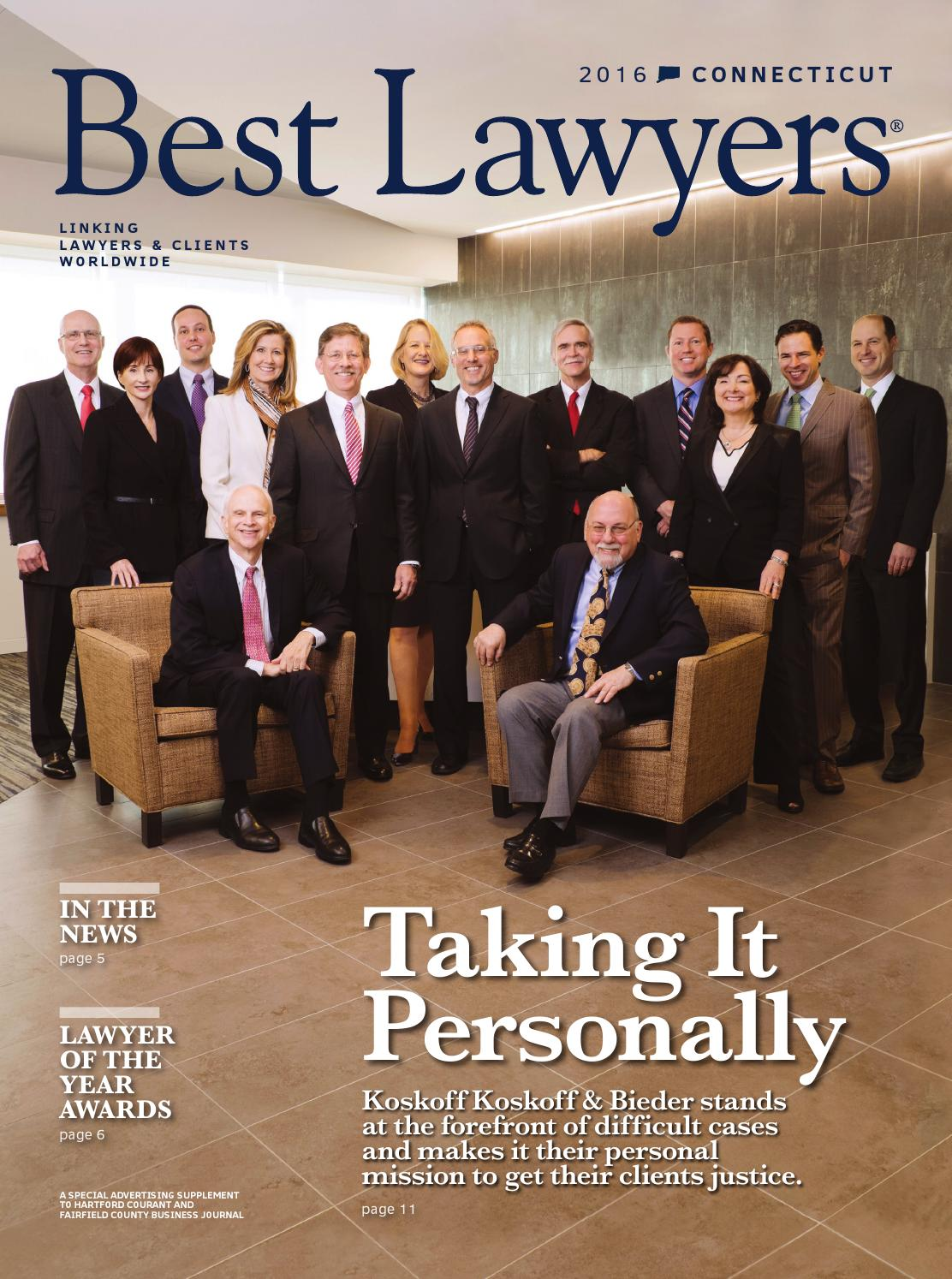 Best Lawyers In Connecticut 2016 By Best Lawyers Issuu