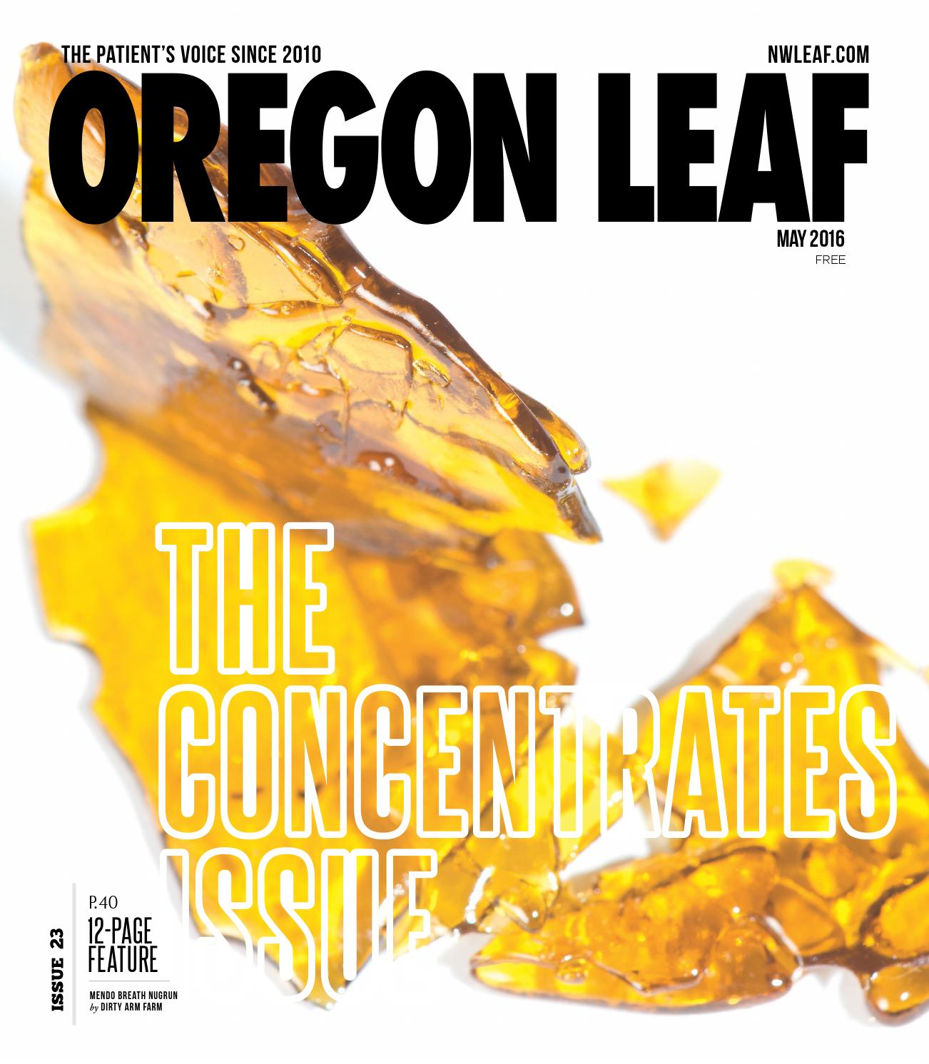 Oregon Leaf - May 2016 by Northwest Leaf / Oregon Leaf