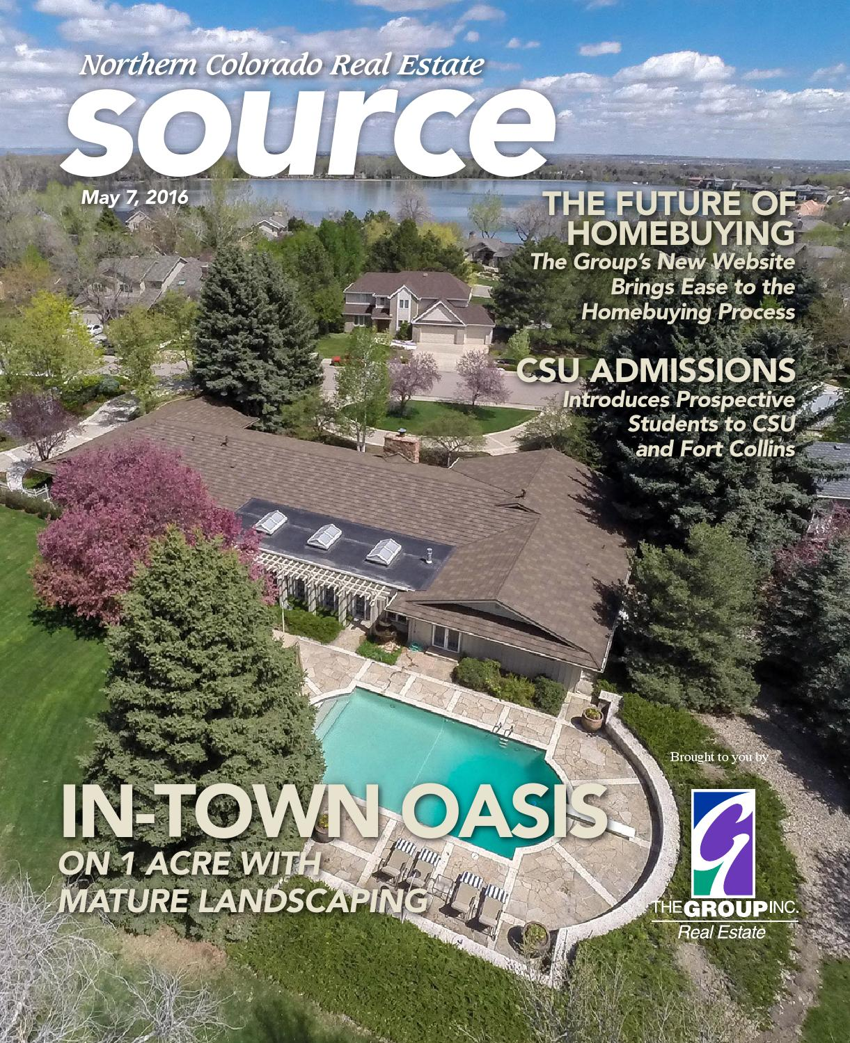 The Northern Colorado Real Estate Source-May 2016 By The