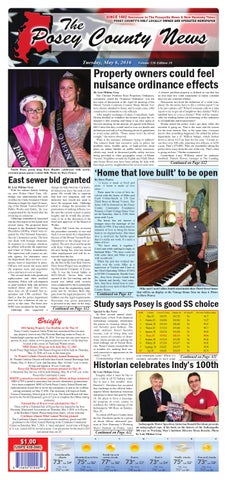 February 9, 2016 - The Posey County News by The Posey County News - issuu