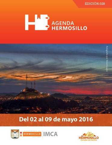 "Cover of ""Agenda hermosillo 02mayo2016"""