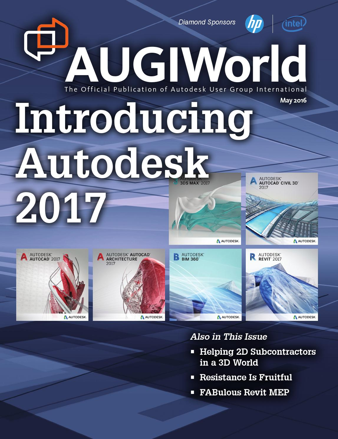 Augiworld By Autodesk User Group International Inc Issuu Standard Electrical Schematic Symbols Additionally Autocad Mep Further