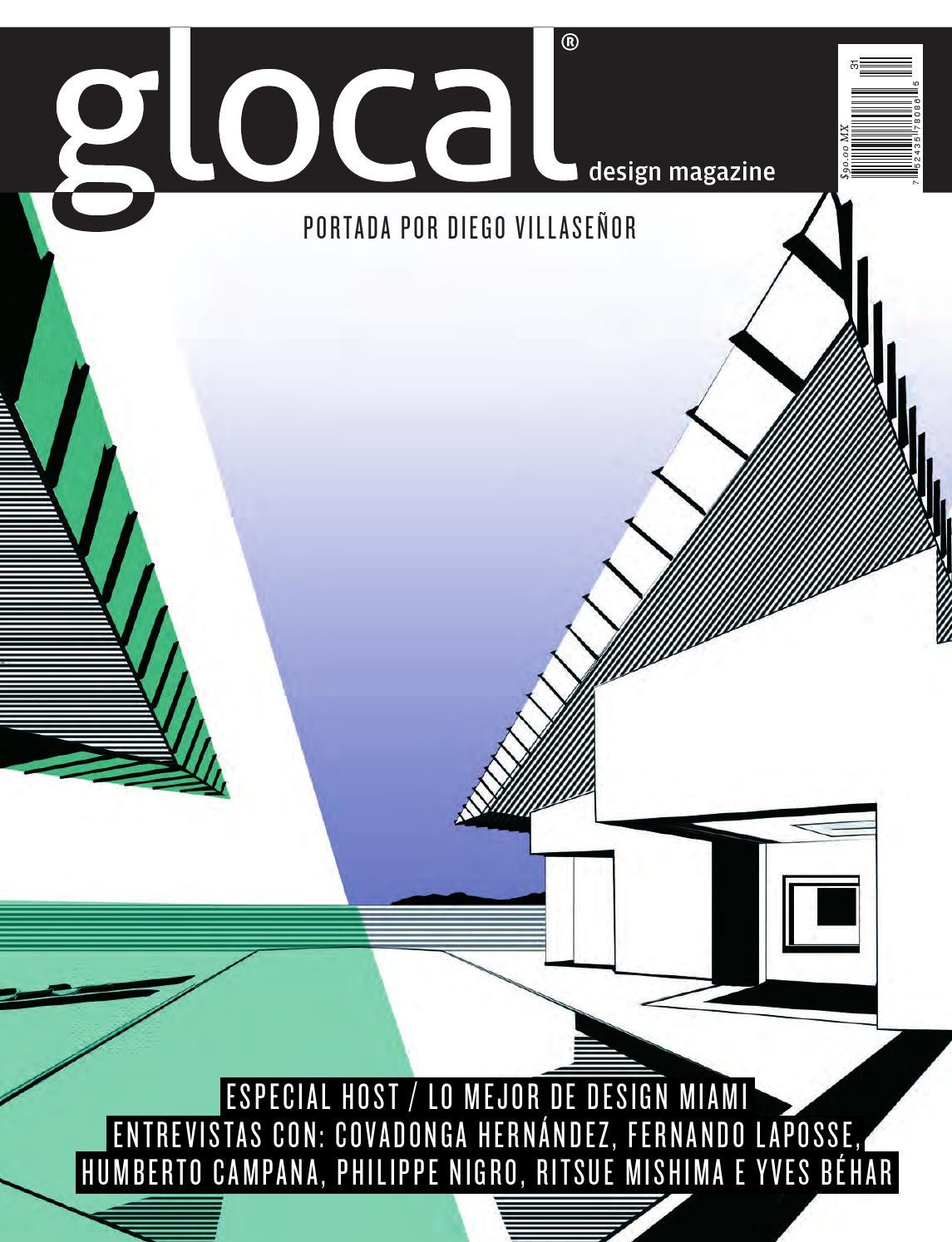 brand new 3ee43 004e4 GLOCAL DESIGN MAGAZINE No. 31 Portada por   Cover by  DIEGO VILLASEÑOR by  GLOCAL DESIGN MAGAZINE - issuu