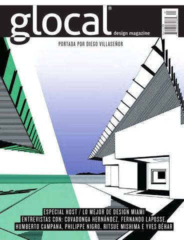 3993b1c099 GLOCAL DESIGN MAGAZINE No. 31 Portada por   Cover by  DIEGO ...