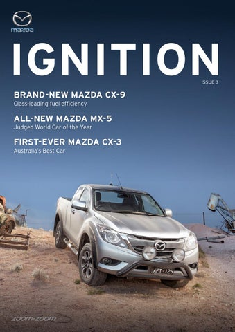 Mazda Ignition Issue #3 by Citrus Media - issuu