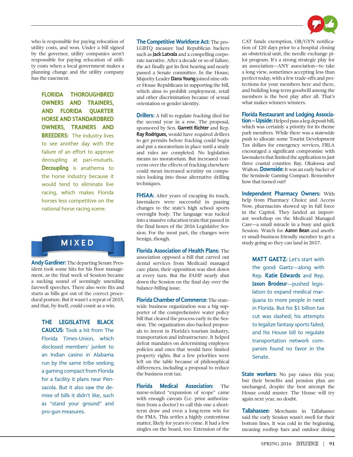 INFLUENCE Magazine — Spring 2016 by Extensive Enterprises