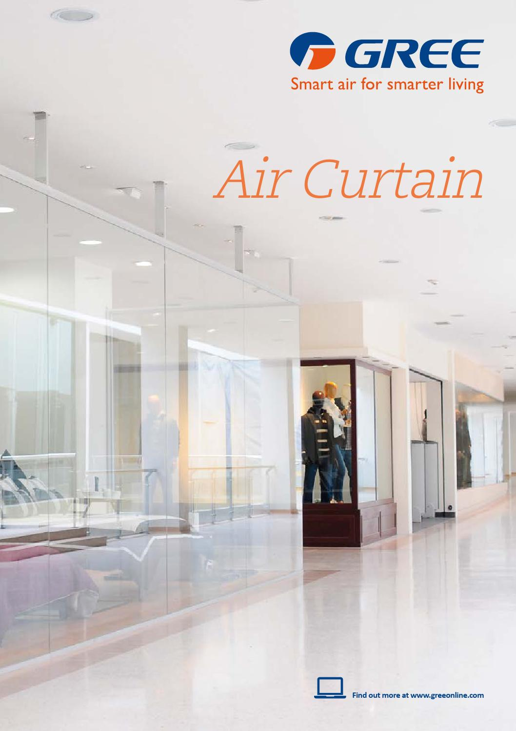 Gree Air Curtain Brochure By Gree Anz Issuu