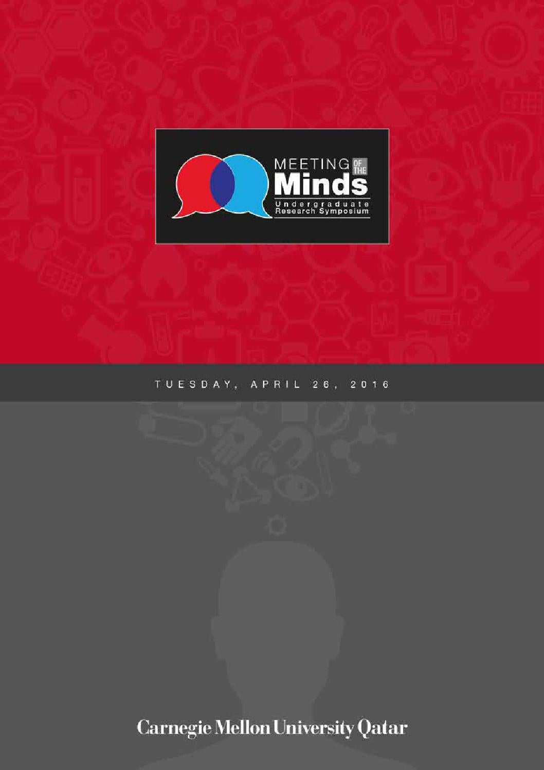 Meeting of the Minds 2016 by Carnegie Mellon University in