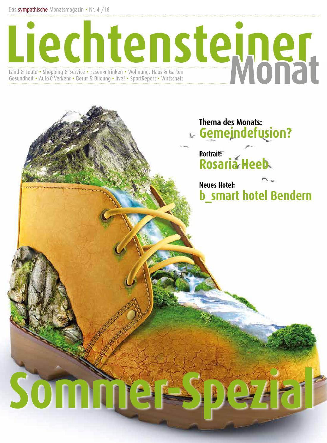 Liechtensteiner Monat 4/2016 by Alpenland-Verlag - issuu
