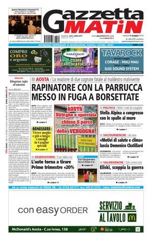 Gazzetta matin del 3 maggio 2016 by newsvda issuu for Katia arreda