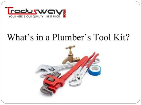 What Is Plumbing Tool And Work Of Tools By