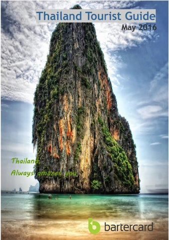 Thailand Travel Guide May 2016 By