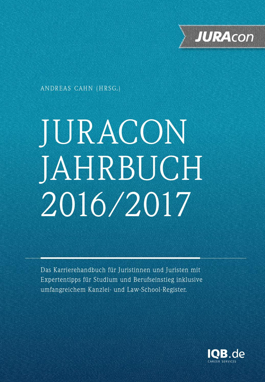 Final juracon jahrbuch 2016 2017 screen by IQB Career Services AG ...