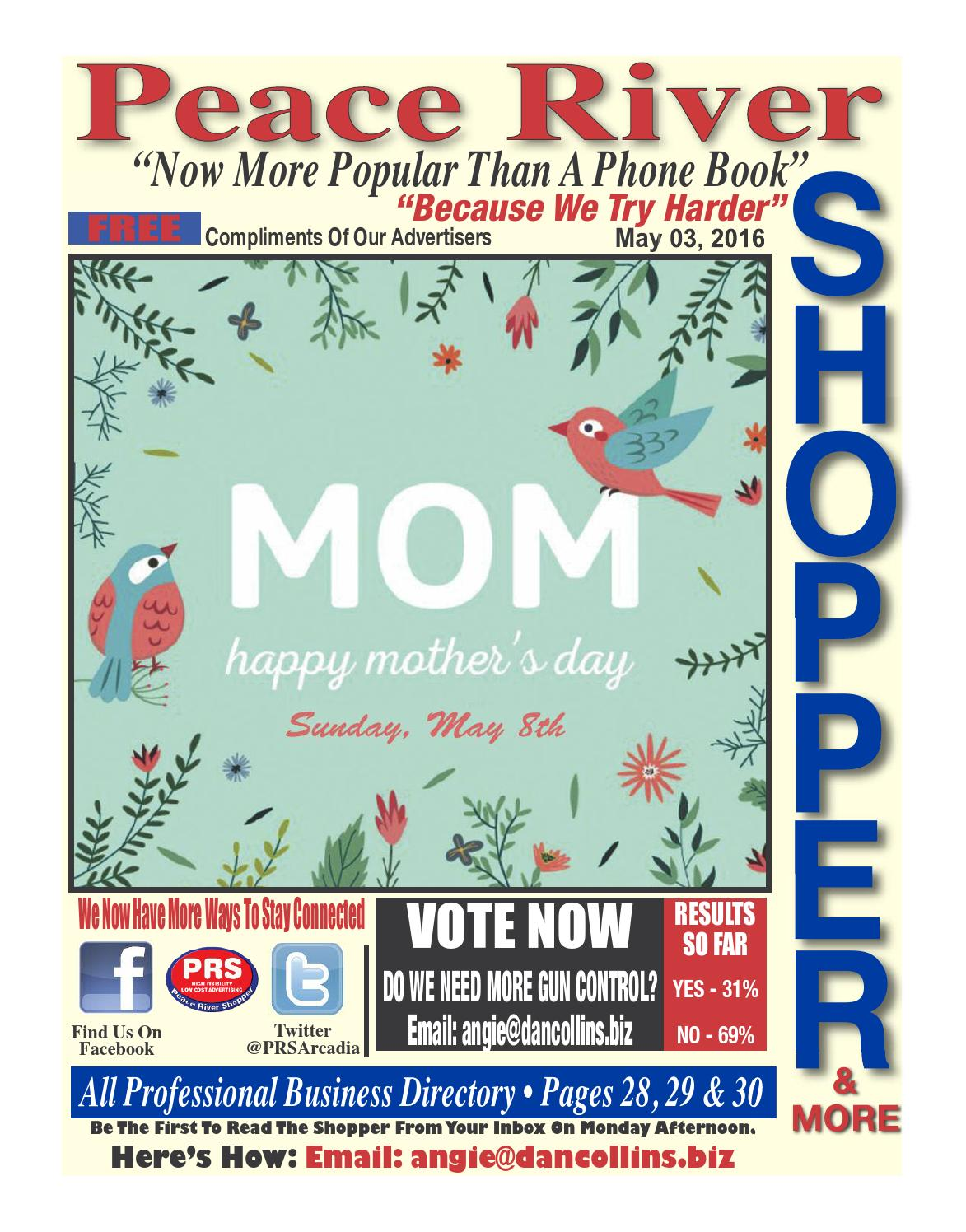 May 03, 2016 Peace River Shopper by Peace River Shopper - issuu