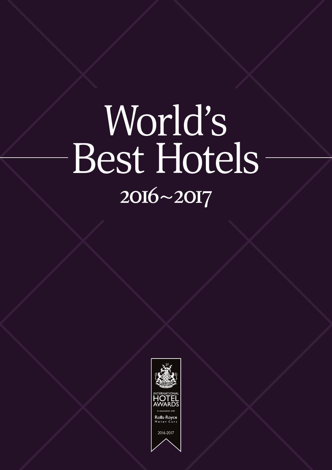 worlds best hotels 2016 2017 by international property media issuu