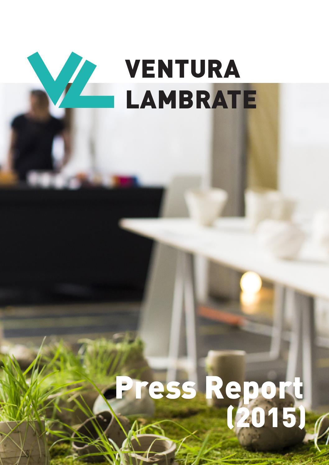 Vintage Tv Meubel Andersen.Ventura Lambrate Press Report 2015 By Ventura Projects Issuu