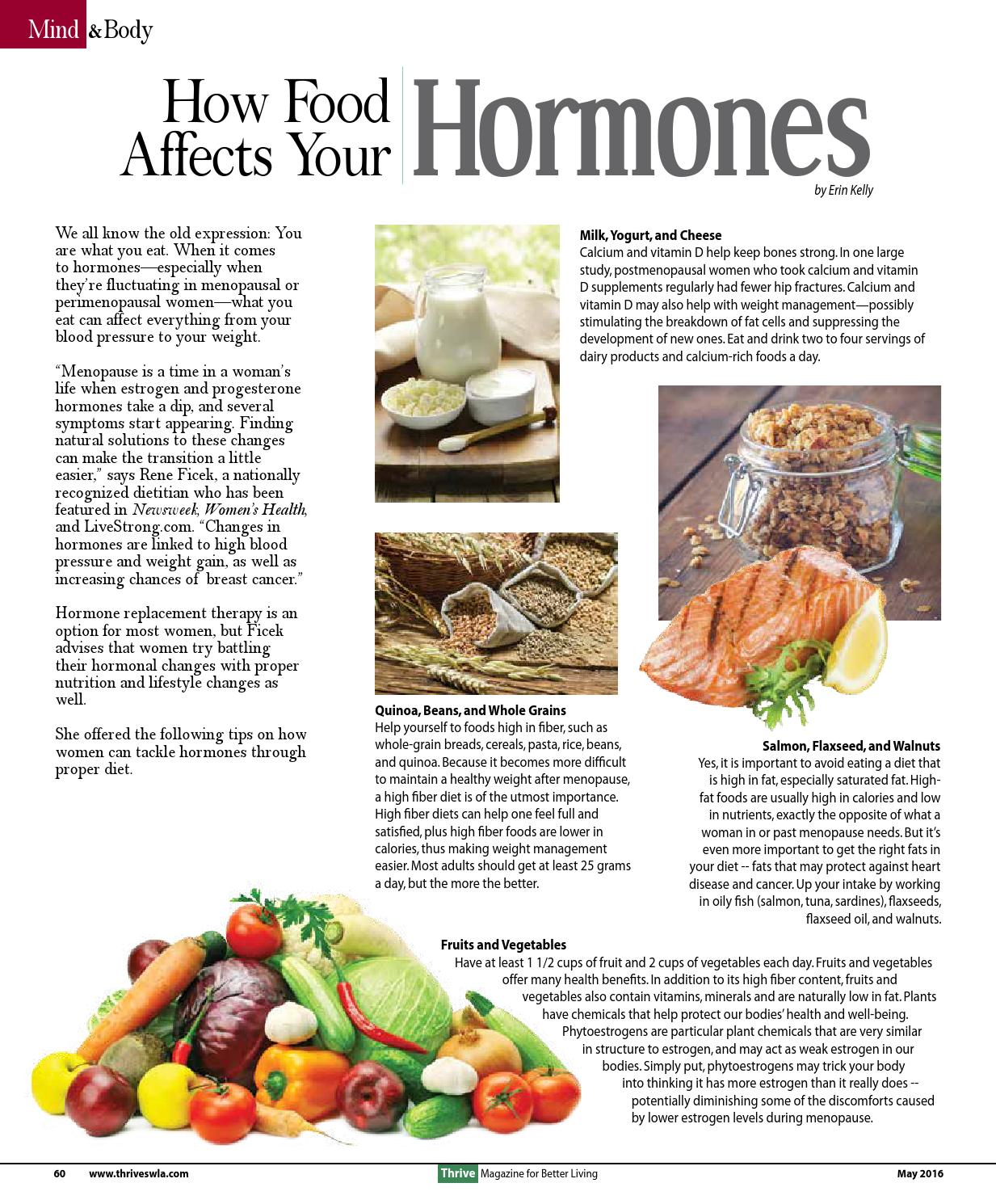 Foods High In Estrogen And Progesterone Food