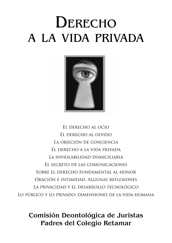 Derecho a la vida privada (2016) by Retamatch - Issuu - photo#14