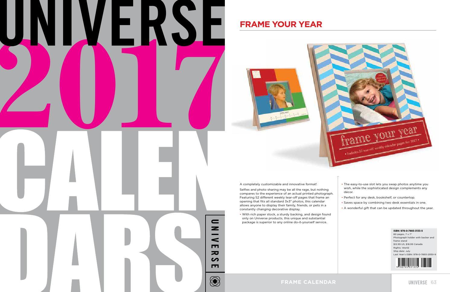 Universe publishing 2017 calendar catalog by Rizzoli International  Publications - issuu