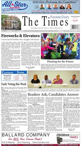 Freestonecountytimes042716 by Karen Leidy - issuu