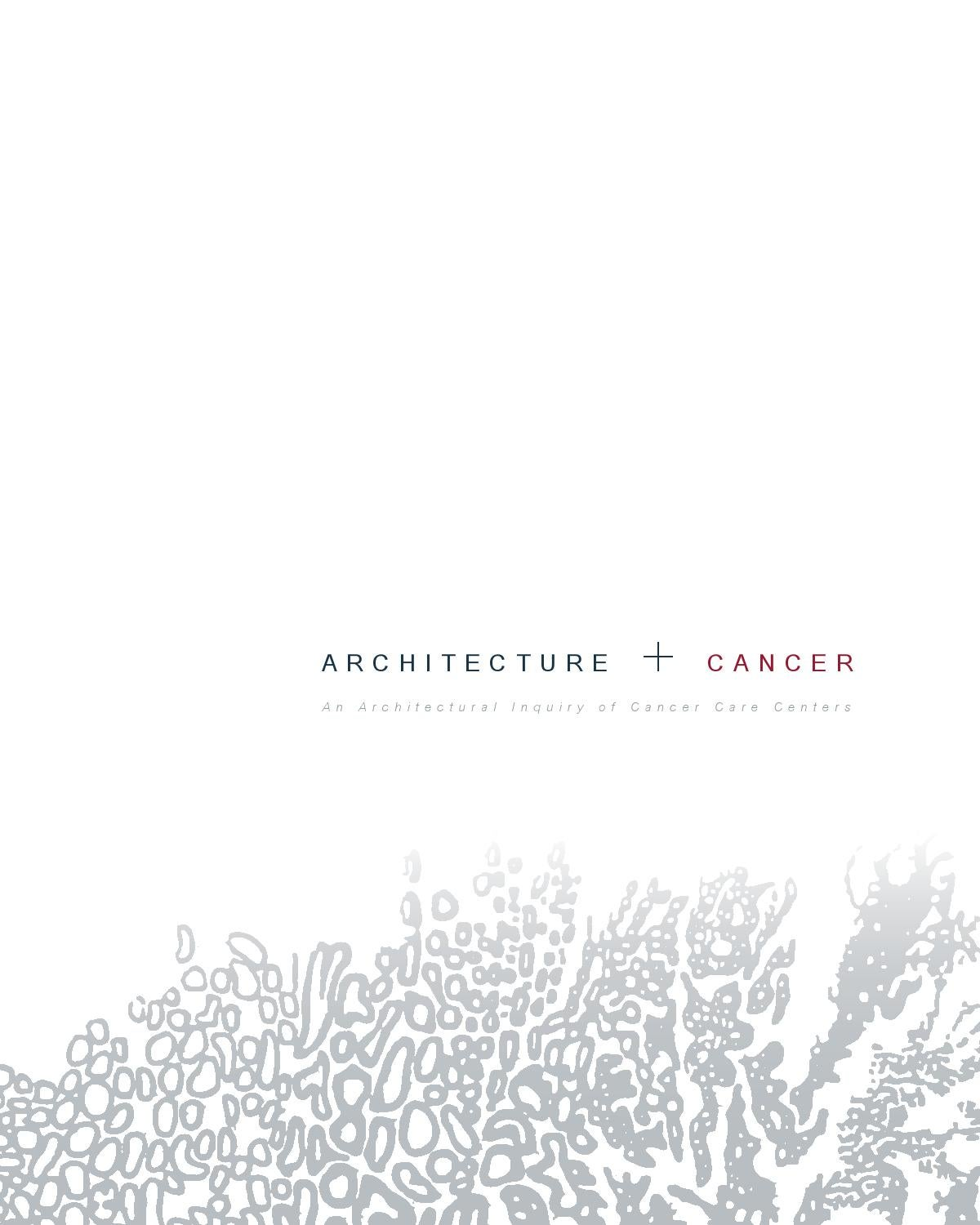 Architecture + Cancer by Austin Miles - issuu