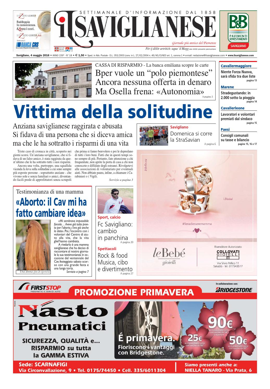04 05 2016 by saviglianese - issuu b6a77d76fcbd