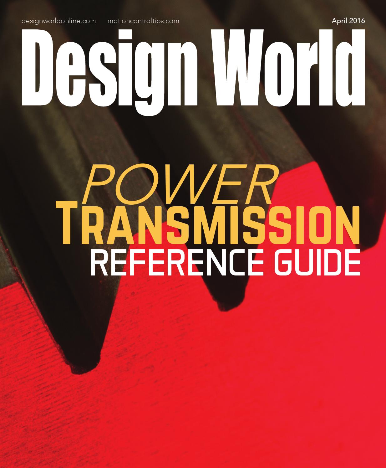 Power Transmission Reference Guide 2016 By Wtwh Media Llc Issuu Dc Motor Brushes Replacement Besides Bodine Wiring Diagram