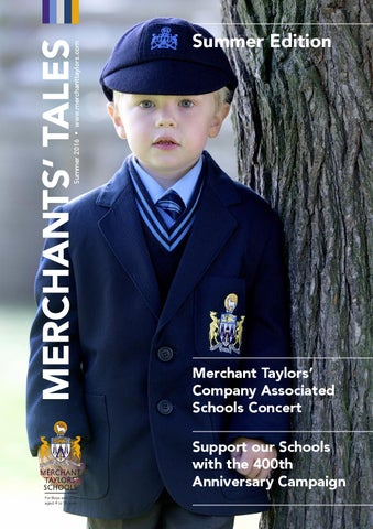 Merchants  Tales Summer Edition 2016 by Merchant Taylors  - issuu 3392dc284048