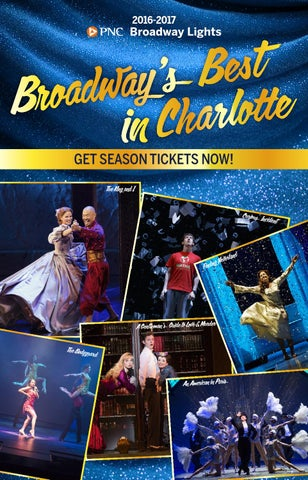 2016 2016 PNC Broadway Lights Season Brochure NEW By Blumenthal ... Design Ideas