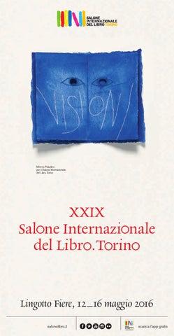 Programma Xxix Salone Internazionale Del Libro 2016 By Fondazione