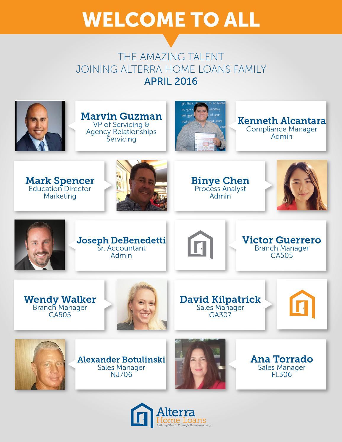 Alterra Home Loans Marketing Director