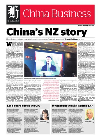 7302b5d7ddc4 NZH China Business Report by NZME. - issuu