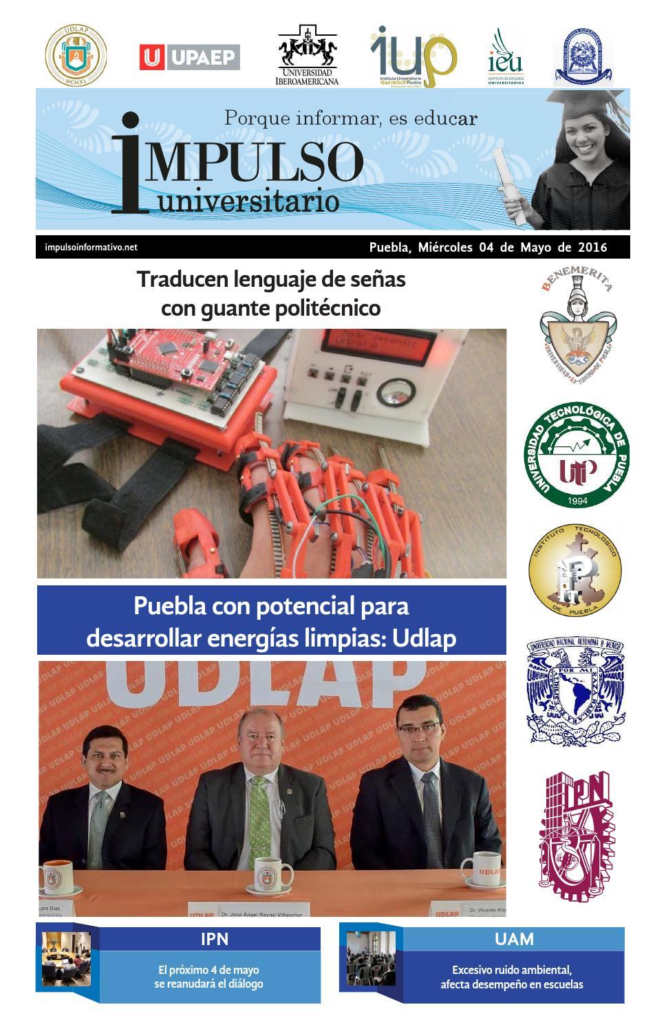 Impulso universitario 04 de mayo 2015 by Laura Alejandra García ...