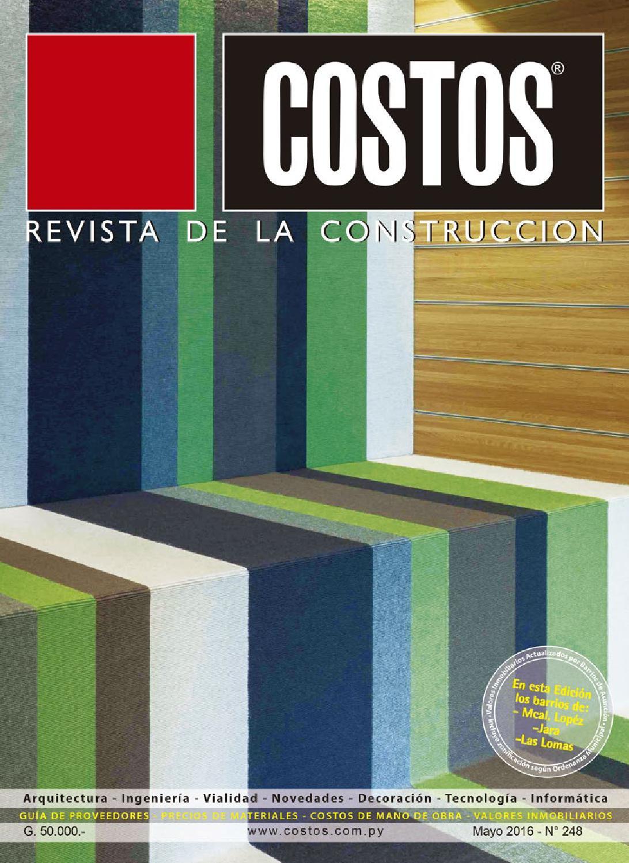 Costos 248 Mayo/2016 by Revista Costos (Paraguay) - issuu