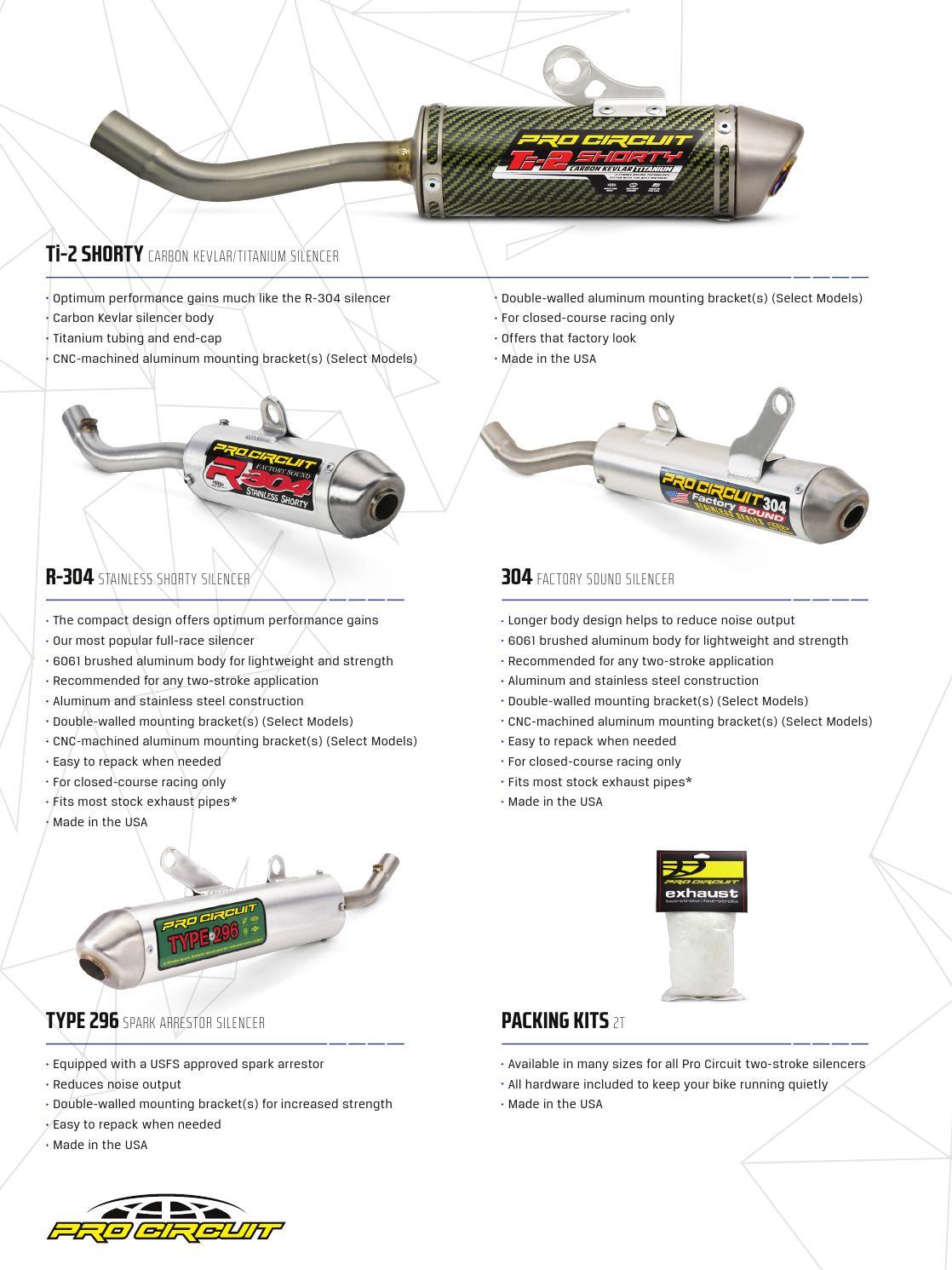 2016 Pro Circuit Australian Catalogue by Monza Imports - issuu