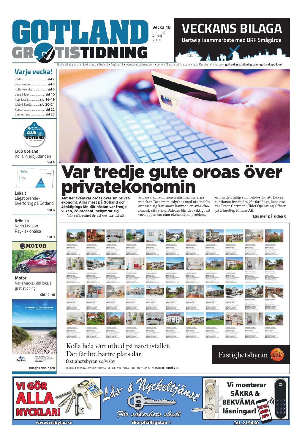87c3dd7e0e9 Gotland Gratistidning by Svenska Civildatalogerna AB - issuu