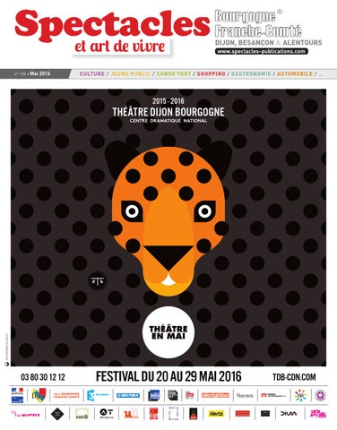 d492add068 Spectacles Publications Dijon n°155 / Mai 2016 by SPECTACLES ...